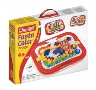 Мозаика Фантастические цвета (300 деталей) 3 размеров Quercetti