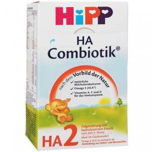 Молочная смесь  Combiotic Гипоаллергенная 2 6-12 месяцев, 500 г Hipp