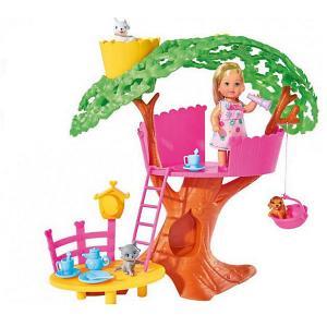 Набор с куклой Еви  Домик на дереве Simba