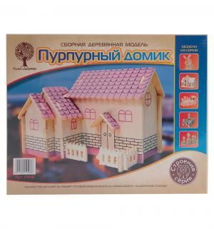 Сборная деревянная модель  Пурпурный домик Wooden Toys