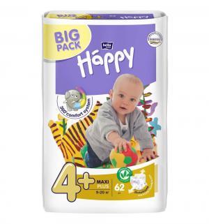 Подгузники  Baby Happy Maxi Plus 4+ (9-20 кг) 50 шт. Bella