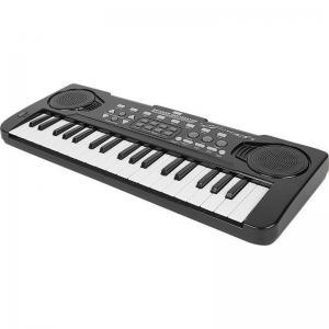 Синтезатор  с микрофоном 37 клавиш черный Zhorya