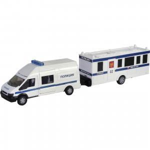 Машинка Rescue Van полиция с прицепом 1:48, Autotime