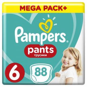 Подгузники-трусики Pants р.6 (15+ кг) 88 шт. Pampers