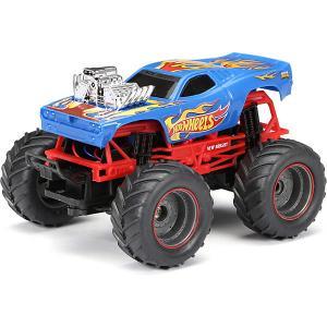 Радиоуправляемая машинка  Monster Truck 1:24, синяя New Bright. Цвет: синий