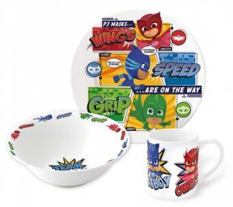 Набор посуды керамической Герои в масках Команда (3 предмета) Stor