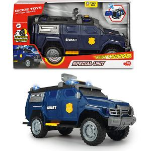 Машинка  Спецназ, 40 см, свет звук Dickie Toys