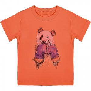Футболка для мальчика WOW. Цвет: оранжевый