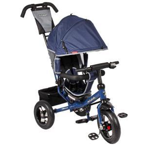 Трехколесный велосипед  Comfort 12x10 AIR, цвет: синий Moby Kids