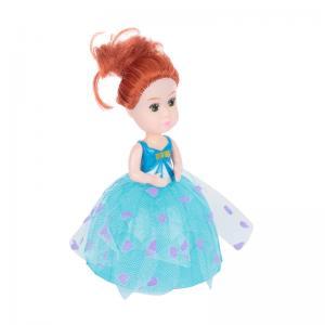 Кукла  в стакане мороженного, бирюзовая Игруша