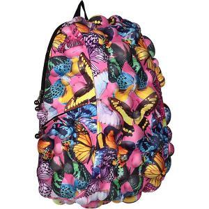 Рюкзак  Bubble Full Butterfly, 46х36х20 см MadPax. Цвет: разноцветный