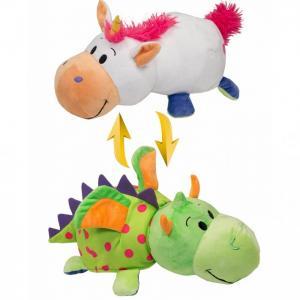 Мягкая игрушка  Вывернушка Единорог-Дракон 2 в 1 35 см Toy