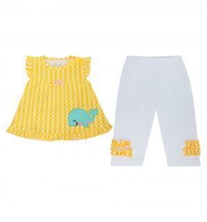 Комплект туника/леггинсы , цвет: желтый Bony Kids