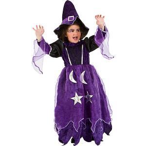 Карнавальный костюм  Фея Волшебница для девочки Veneziano. Цвет: синий