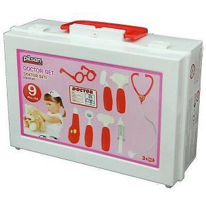 Игровой набор доктора  Doktor Set, розовый Pilsan. Цвет: розовый