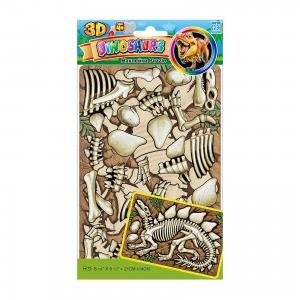 Пазл 3D Динозавры №2 мини PZA 0604, Room Decor