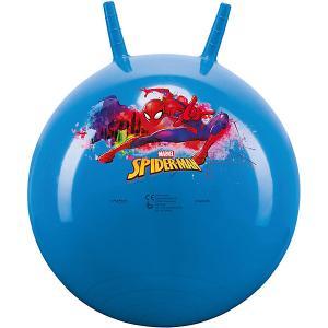 Мяч-Попрыгун  Дисней Spider-man John. Цвет: голубой