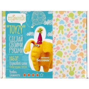 Набор для валяния Toyzy Слон. Цвет: разноцветный