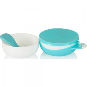 Набор посуды для кормления  Детский, цвет: бирюзовый Farlin