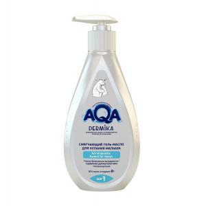 Гель-масло  смягчающее, с рождения, 250 мл AQA baby