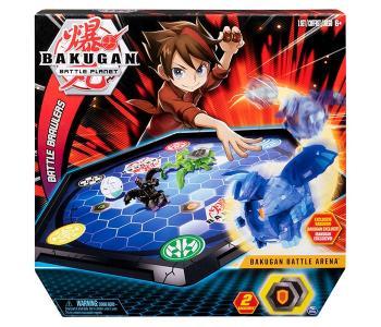 Игровой набор с ареной и фигуркой-трансформером Bakugan