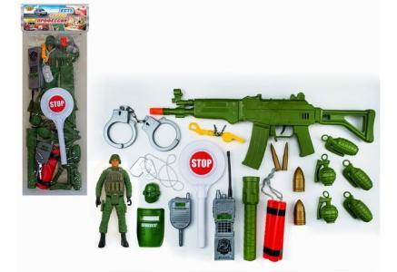 Игровой набор Военный 21 предмет M9212 Yako