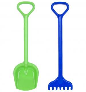 Игровой набор для песка  синий и салатовый Unice