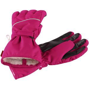 Перчатки Reima. Цвет: розовый