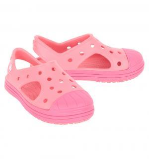 Сандалии  Bump It Sandal K Coral/Raspberry, цвет: коралловый Crocs
