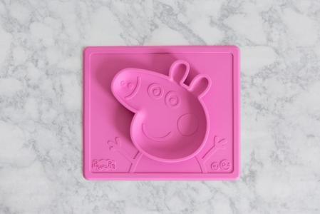 Тарелка с подставкой Peppa Pig Mat Ezpz