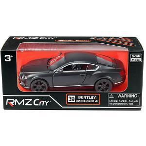 Металлическая машинка  Bentley Continental GT V8, 1:32 RMZ City. Цвет: разноцветный