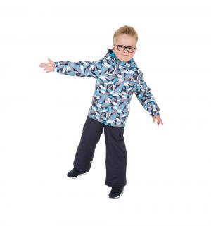 Комплект куртка/брюки  Голубые льдинки, цвет: серый Ma-Zi-Ma by Premont