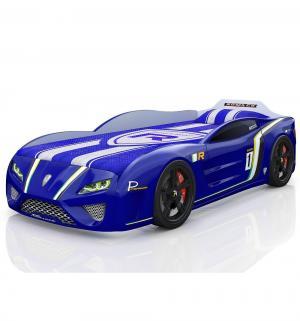 Кровать-машинка  SportLine, цвет: синий Romack