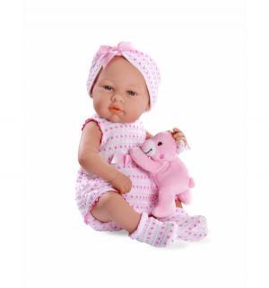 Кукла-пупс  Elegance с игрушкой розовый Arias