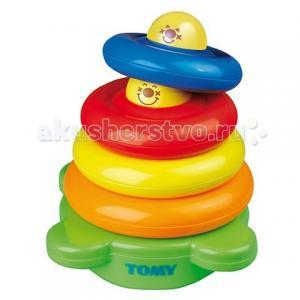 Развивающая игрушка  Веселая пирамидка Tomy
