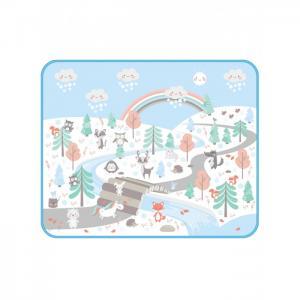 Игровой коврик  Зимняя сказка 130х160 см Mambobaby