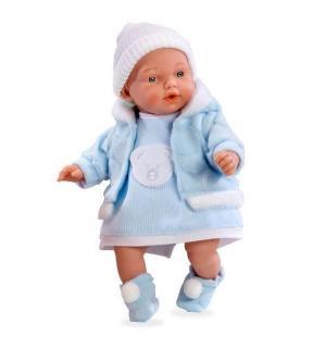 Кукла  Elegance Hanne в голубом костюме 28 см Arias