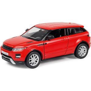 Металлическая машинка  Range Rover Evoque 1:32, красный матовый RMZ City