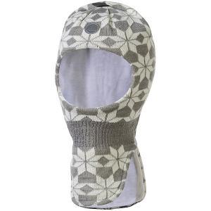 Шапка-шлем Luhta. Цвет: светло-серый