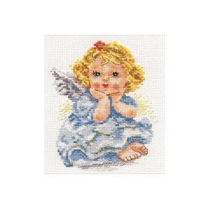 Набор для вышивания  Ангелок мечты 11х14 см Алиса