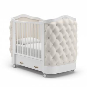 Детская кроватка  Тиффани Стразы колесо Гандылян