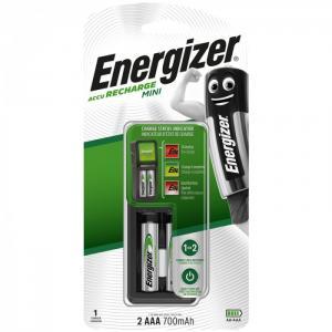 Зарядное устройство Mini с аккумуляторами AAA (HR03) 700mAh Energizer