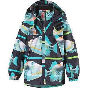 Демисезонная куртка  Pujo Reima. Цвет: зеленый