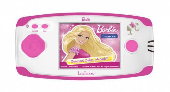 Игровая консоль Барби Lexibook