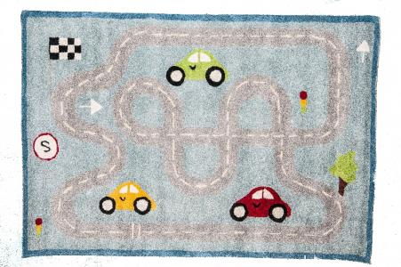 Ковер  с рисунком дорога, размер 70х140 см Sai Carpets