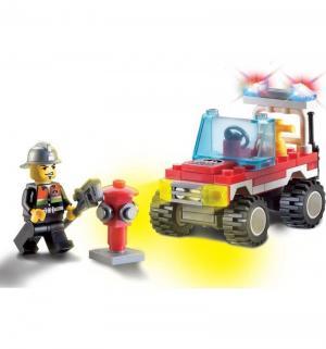Конструктор  Пожарная машина (62 дет) Brick