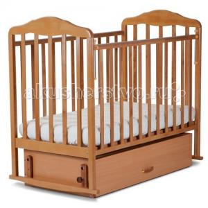 Детская кроватка  Березка 12200 с ящиком поперечный маятник СКВ Компани