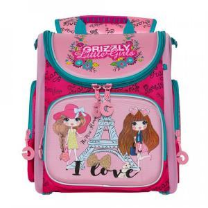 Рюкзак  школьный, цвет: жимолость Grizzly