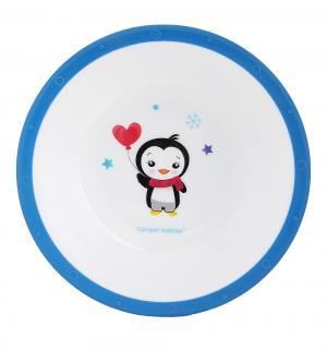 Тарелка  с нескользящим дном цвет: синий Canpol