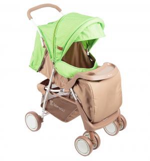 Прогулочная коляска  Terra, цвет: бежевый/зеленый Lorelli